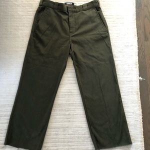 Reformation work pant - 31, new